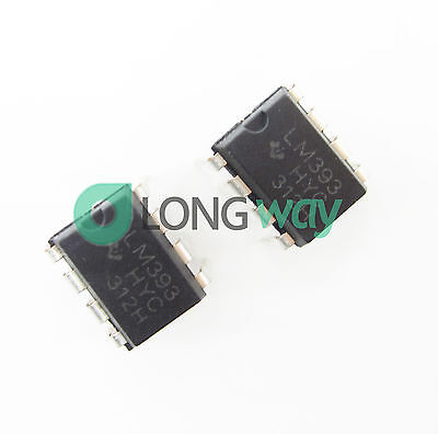 100PCS LM393P LM393N LM393 DIP-8 Low Power Voltage Comparator IC