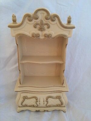 Vintage SUSY GOOSE Barbie Doll HUTCH French Provincial Book Shelf