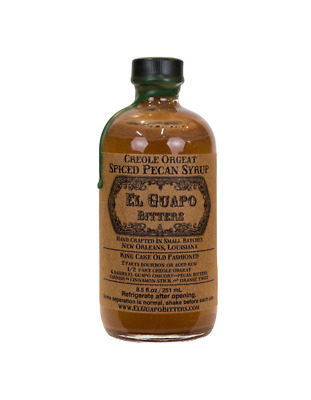 El Guapo Creole Orgeat (Spiced Pecan) Syrup 250ml
