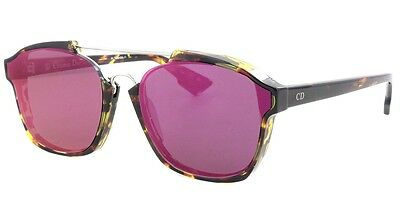 5c42240bd28a Christian Dior ABSTRACT spotted havana/violet mirror (TVZ/9Z) Sunglasses