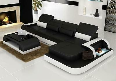 ecksofa wohnlandschaft couch sofas polster l form garnitur eck couchen xxl big eur. Black Bedroom Furniture Sets. Home Design Ideas
