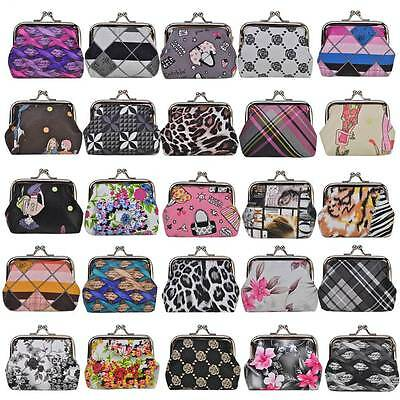 Wholesale Joblot 50 Womens Girls ladies Purses Fashion Patterned Coins Wallet