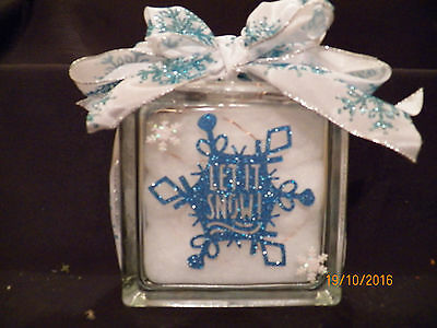 Lighted Snow Flake Decorations