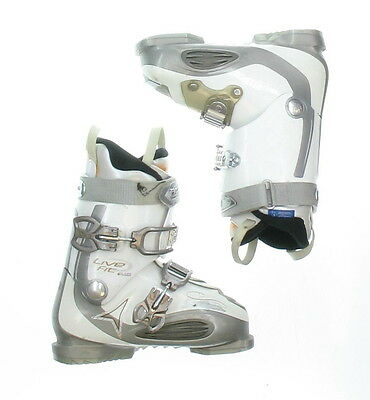 Used Atomic Live Fit Plus White Ski Boots Women's