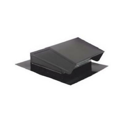 Broan-Nutone 636 Roof Cap, Steel/Black Finish, Fits 3 or 4-In. Round Duct