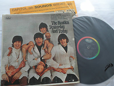 BEATLES   BUTCHER ALBUM   3rd State    GREAT PEEL    LP    SUPER NICE COVER!!