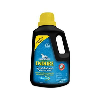 Central Garden & Pet 3002221 Endure Sweat Resistant Fly Spray For Horses, 1-Gal.