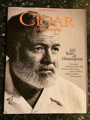 Cigar Aficionado Magazine August 1999