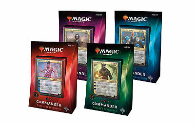 Magic the Gathering Commander 2016 Decks Set 5 decks MTG ----- Rudy from YouTube