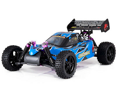 Redcat Racing Shockwave 1/10 Scale Buggy Nitro Fuel Blue 1:10 rc car