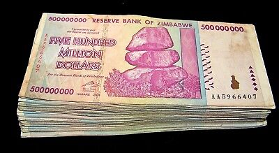 1 x Zimbabwe 50 Trillion Dollar banknote//AA//2008-collectible currency