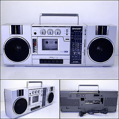 SHARP GF-7300 4 Band Radio Cassette Boombox