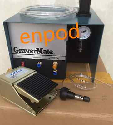 Pneumatic Impact Engraving Machine Graver Jewelry Engraver Single Ended 110/220v