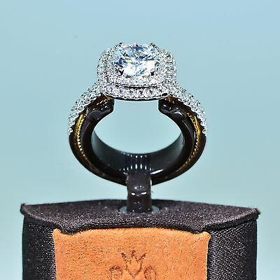 Verragio 18K W/g Couture Eng-0425Cu2T -Semi Mt.- 0.45 Ctw – Size 6- Retail $5740