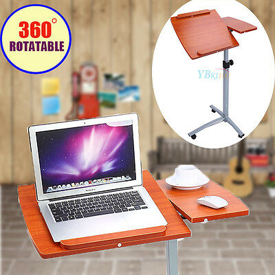 Adjustable 360° Rotating Mobile Laptop Computer iPad Desk Stand Table Holder New