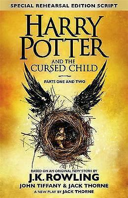 Harry Potter and the Cursed Child - Parts I & II by J. K. Rowling Book | NEW AU