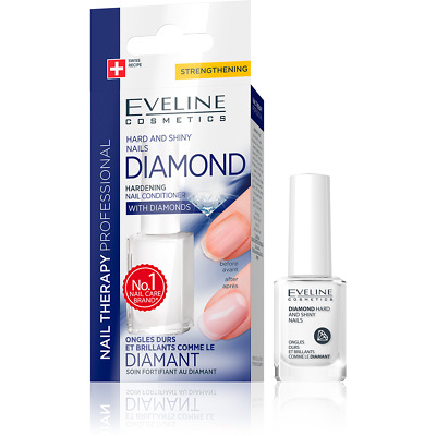 EVELINE Diamond Hard and Shiny Nails Professional Nail Strengthener, TOP PRODUCT