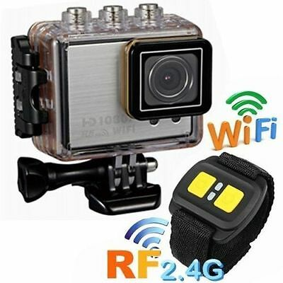 WIFI Action Sport Kamera Cam 1080P HD Video Wasserdicht Helmkamera Camcorder