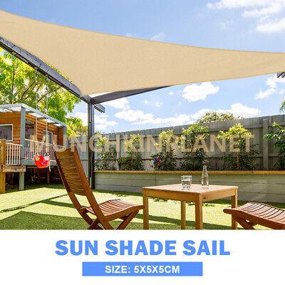 Hot Sale OUTT Large Outdoor Summer Sun Shade Sail Canopy HDPE Cloth Multi Size