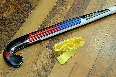 "ADIDAS Hockey Stick DF24 CARBON  Field Hockey 37.5"" FREE Grip & Carry BAG"