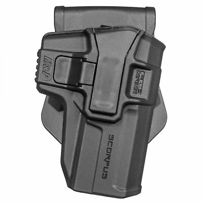 FAB Defense H&K P8 USP S Scorpus Level 1 Swivel Holster Bundeswehr P8 Holster