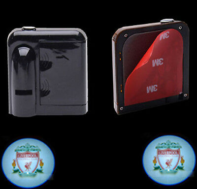 2PCS Liverpool Wireless Courtesy Car LED door Projector Logo ghost shadow light