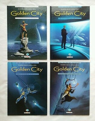 Lot BD - Golden City T.1 à 4 / EO & RE / PECQUEUR / MALFIN / DELCOURT