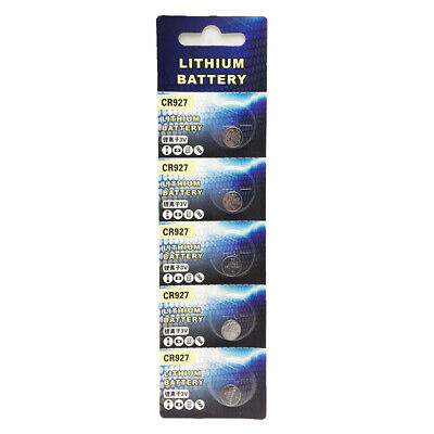 10pcs CR927 3V Button Cell Coin Battery for Dollhouse Miniatures Lamp Light