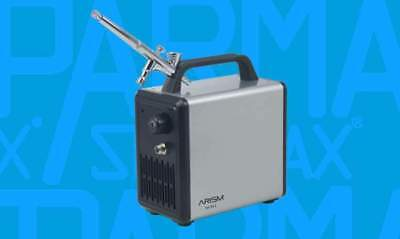 Airbrush - ARISM MINI Sparmax Airbrush Set *NEU & OVP