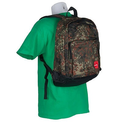 SP Chocolate Backpack Camo Canvas Bag skate