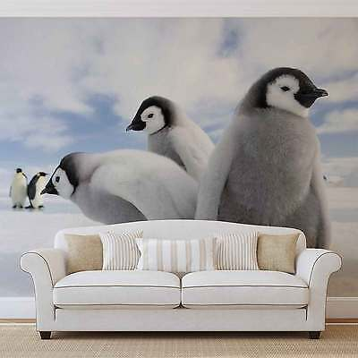 Penguins WALL MURAL PHOTO WALLPAPER (2727DK)