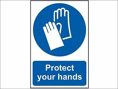 Scan - Protect Your Hands - PVC 200 x 300mm