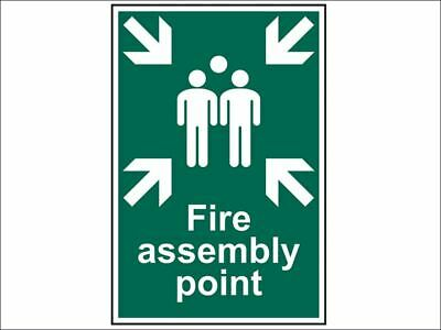Scan - Fire Assembly Point - PVC 200 x 300mm