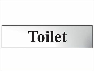 Scan - Toilet - Polished Chrome Effect 200 x 50mm
