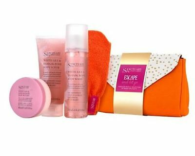 Sanctuary Spa Escape And Let Go Gift Box Set New