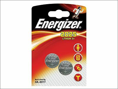 Energizer - CR2025 Coin Lithium Battery Pack of 2 - S5311
