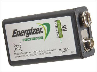 Energizer - 9 Volt Rechargeable Power Plus Battery R9V 175 mAh Single