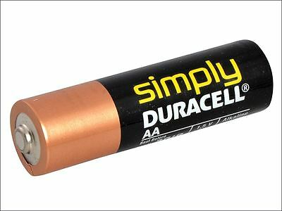 Miscellaneous - AA Alkaline Duracell RePack MN1500 Batteries Pack of 4 - S5733