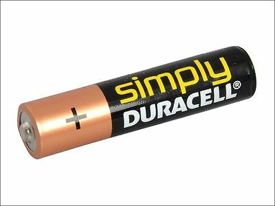 Miscellaneous - AAA Duracell Alkaline RePack MN2400 Batteries Pack of 4 -