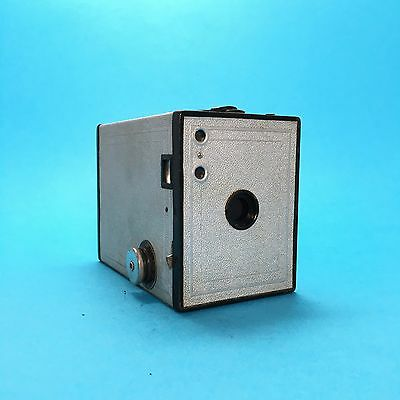 Kodak Brownie No. 2 Silver Jubilee Special Edition Rare 120 Box Camera Collectab