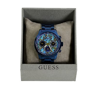 Guess Women's 'Sunrise' Watch with Chronograph & Stainless Steel Strap W0330L17