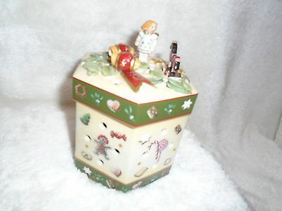 Villeroy and Boch Christmas Toys Box Candle Holder