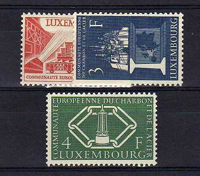 LUXEMBOURG Yvert n° 511/513 neuf sans charnière