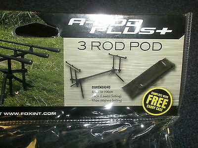 Fox A Pod + Including Case and Buzzbars Carp fishing tackle
