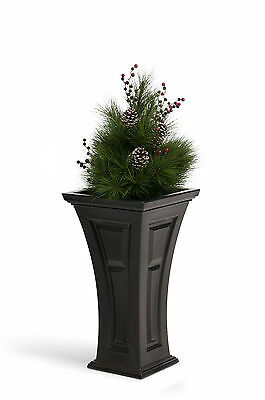 YIMBY Heritage Planter with Pine Bough Christmas Arrangement