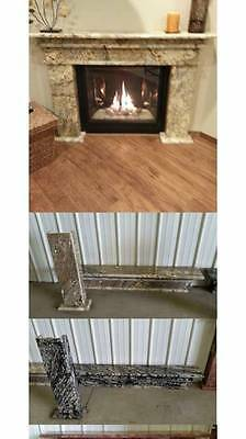 Brazilian Granite Fireplace-3 Piece Surround-4 Color Choices/2 Different Sizes