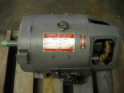 General Electric DC Generator 6.5 KW Tested & Works Good!