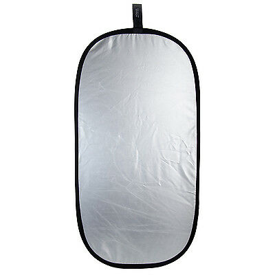 """Rogue 2-in-1 Collapsible Reflector 20""""x40"""" - Super Soft Silver/Natural White"""