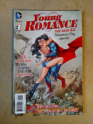 Young Romance #1 1St Print Dc 2012 Valentine's Day Special Superman Wonder Woman