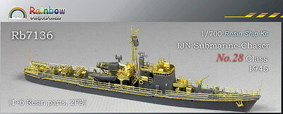 Rainbow Resin kit 1/700 IJN Submarine-Chaser No.28 Class 1945  RB7136